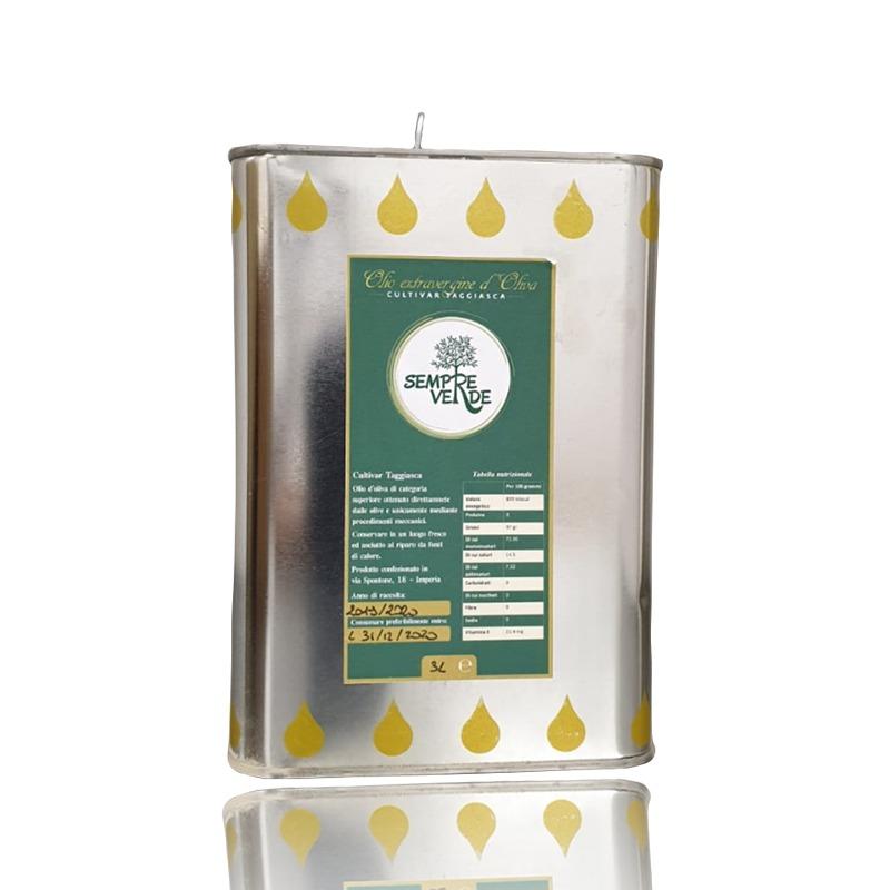olio di oliva sempre verde